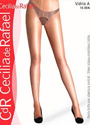 Cecilia de Rafael Vidrio A Glossy Crotchless Tights Zoom 2