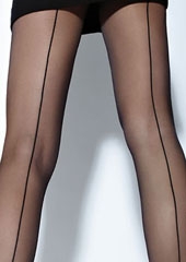 Cecilia de Rafael Hyde Park Backseam Tights Zoom 2
