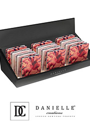 Danielle Creations Floral Compact Zoom 1