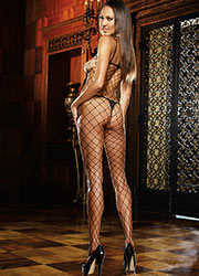 Dreamgirl Fence Net Bodystocking Zoom 2