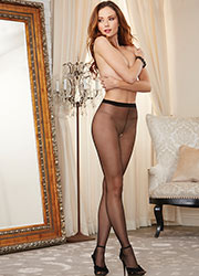 Dreamgirl Sheer Open Crotch Tights