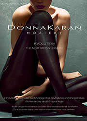 Donna Karan Evolution Satin Jersey Tights