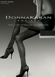 Donna Karan Luxe Collection Suede Jersey Control Top Tights