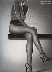 Donna Karan Signature Collection Sheer Satin Ultra High Cut Tights
