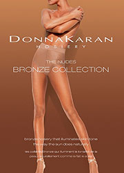 Donna Karan The Nudes Bronze Collection Control Top Tights