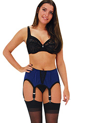 Elaine Edwards Midnight Charm 6 Strap Suspender Belt Zoom 3