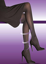 Elbeo Active Firm Support 40 Denier Opaque Tights Zoom 2