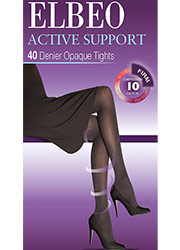 Elbeo Active Firm Support 40 Denier Opaque Tights Zoom 1