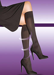 Elbeo Active Firm Support 60 Denier Opaque Knee Highs Zoom 2