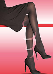 Elbeo Active Medium Support 40 Denier Opaque Tights Zoom 2