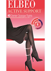 Elbeo Active Medium Support 40 Denier Opaque Tights Zoom 1