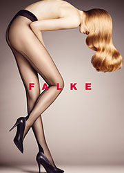 Falke High Heel Seamed Tights Zoom 1