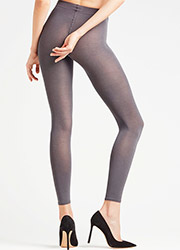 Falke Cotton Touch Footless Tights Zoom 2
