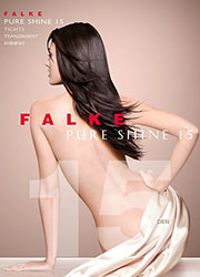Falke Pure Shine 15 Tights Zoom 2