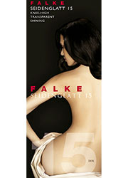 Falke Seidenglatt 15 Knee Highs Zoom 1