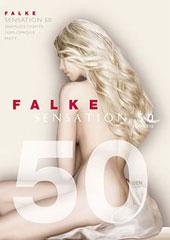 Falke Sensation 50 Denier Seamless Tights Thumbnail