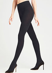 Falke Soft Merino Wool and Cotton Mix Tights Zoom 2