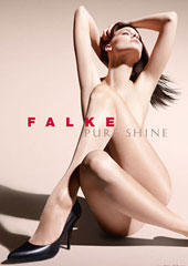 Falke Pure Shine 15 Tights Zoom 1