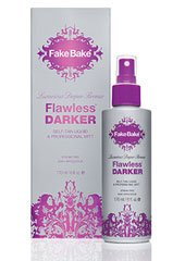 Fake Bake Flawless Darker Self Tan Liquid & Mitt