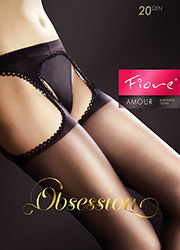 Fiore Amour 20 Suspender Tights Zoom 2