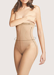 Fiore Bodycare High Waist Bikini 20 Shaping Tights