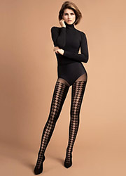 Fiore Impressa Patterned Tights Zoom 2