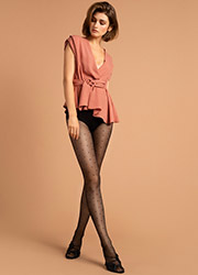 Fiore Kim Patterned Tights Zoom 2