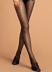 Fiore Kim Patterned Tights Zoom 1