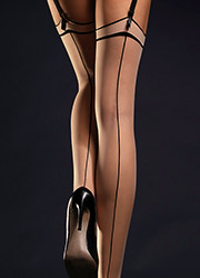 Fiore Madame Seamed Stockings Zoom 2