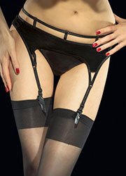 Fiore Vison Suspender Belt Zoom 2