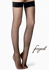 Fogal Netlace Fishnet Hold Ups