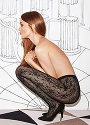 Fogal Romantic Net Tights Zoom 1