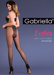 Gabriella Amanda Open Crotch Tights