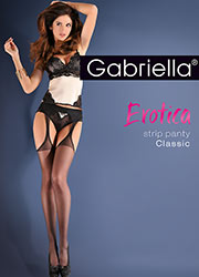 Gabriella Classic Strip Panty Tights