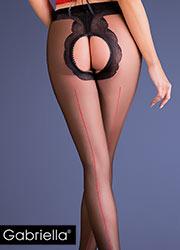 Gabriella Fiera Open Crotch Tights Zoom 2
