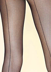 Gerbe Sevilla Micronet Backseam Tights Zoom 2