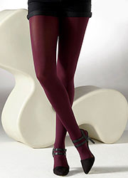 Gipsy 100 Denier Coloured Opaque Tights Zoom 4