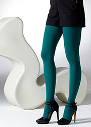 Gipsy 100 Denier Coloured Opaque Tights Zoom 1