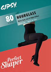 Gipsy Hourglass 80 Opaque Shaper Tights