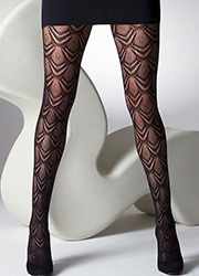 Gipsy Fan Net Tights