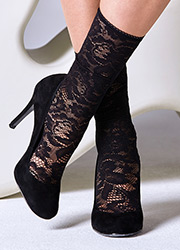 Gipsy Lace Ankle Socks Zoom 1