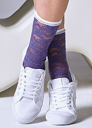 Gipsy Lace Ankle Socks Zoom 3