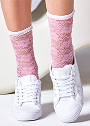 Gipsy Lace Ankle Socks Zoom 2