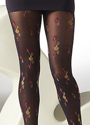 Gipsy Oriental Flower Tights Zoom 2