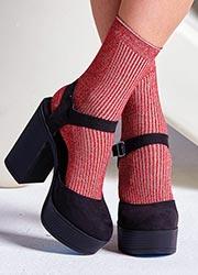 Gipsy Sparkle Seam Free Socks Zoom 4
