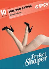Gipsy Tum Bum and Thigh 10 Sheer Shaper Tights