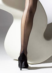 Gipsy Seamed French Heel Tights  Zoom 2