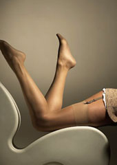 Gipsy Sheer Smooth Knit Stockings (Gold Box)