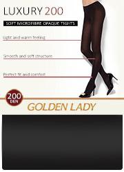 Golden Lady Luxury 200 Denier Opaque Tights Zoom 2