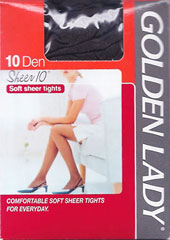 Golden Lady Sheer 10 Tights